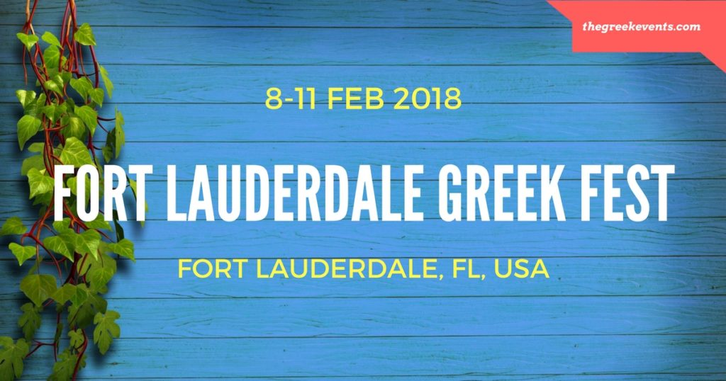 fort lauderdale greek festival 2018 the greek events. Black Bedroom Furniture Sets. Home Design Ideas