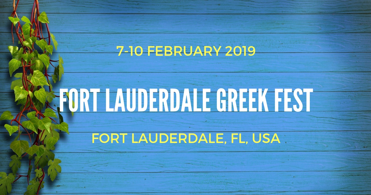 fort lauderdale greek festival 2019 the greek events. Black Bedroom Furniture Sets. Home Design Ideas